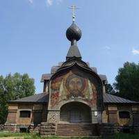 Церковь Святого Духа и мозаика Спас Нерукотворный -  Николая Рериха