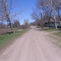 Улица села Сокирное