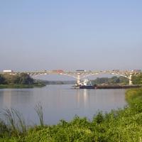 Мост через Дон  на М-4 в Верхнем Мамоне