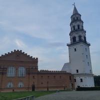 Невьянская  наклонная башня...