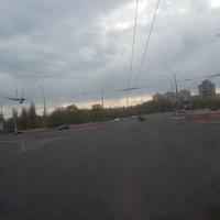 Въезд на мост через реку Псёл.