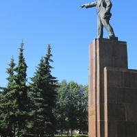 Памятник Ленину на Красной площади.