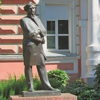 Памятник Максиму Богдановичу.