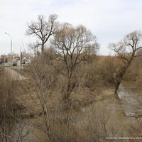 Река Большая Липня около моста  автотрассы м7