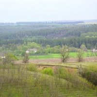 Стримовка,вид с дороги на Омельгород.