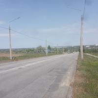 Дорога с Хортицкого жилмассива.
