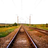 Железная дорога у Подосиновик.