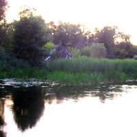 Река Елань у Подосиновик.