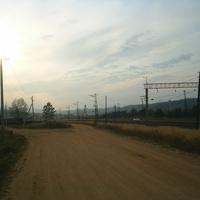 Около железной дороги