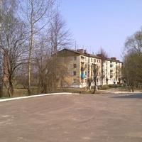 Вид с ЖД платформы