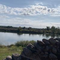 На берегу Сожа, деревня Мирогощь
