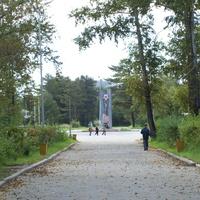 Памятный мемориал в честь Победы в Великой отечественной войне