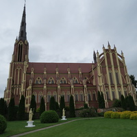 Костел св. Троицы в дер. Гервяты