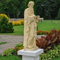 Костёл св. Троицы в Гервятах - скульптуры