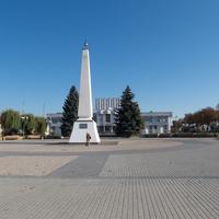 Центральная площадь Свислочи