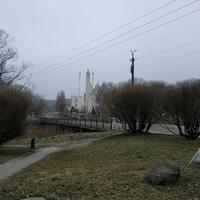 Мост через Гайну и костел
