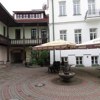 В историческом центре Минска - ул. Герцена