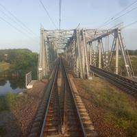 Лозово-Севастопольский железнодорожный путь. Мосты через реку Волчья.