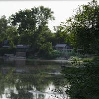 река Северский Донец, в районе баз отдыха в Маяковском