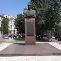 Памятник Родиону Яковлевичу Малиновскому.