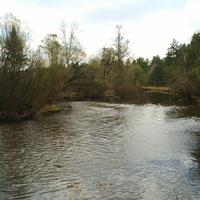 На речке Олхе, в районе Дачная