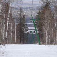 Подъемник на горнолыжке в Олхе