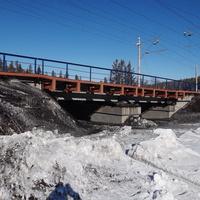 ЖД мост на Трудном