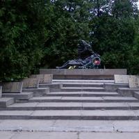 Мемориал советским воинам, погибшим в Великую Отечественную войну.