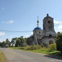 """Знаменское, церковь иконы Божией Матери """"Знамение""""."""