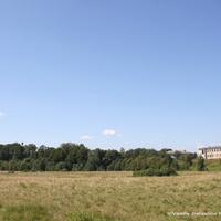 Вид на с. Ельцы и долину р. Шерна