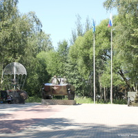 Мемориал погибшим в ВОВ в парке им. 36-й гвардейской дивизии