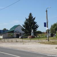 Новоселово, памятник Юрию Гагарину