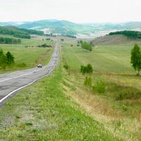 Дорога к Большой Ербе