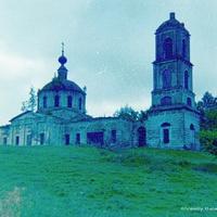 Глухово, Ильинская церковь, 1988 г.