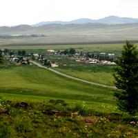 Вид на Кобяково с гора Ашпа