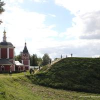 Суздаль, Успенская церковь на Кремлевской ул.