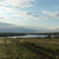 Елизаветинское водохранилище.
