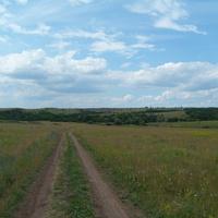 По дороге к Софиевским прудам.