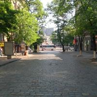 Днепропетровск. Спуск ул. Михаила Грушевского.