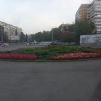 Жилой массив Победа. Пересечение проспекта Героев и бульвара Славы.
