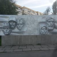 Жилой массив Победа. Монумент Великой Отечественной.