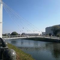 Харьков. Мариинский пешеходный мост.