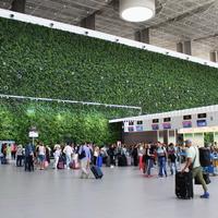 Интерьер аэровокзала.