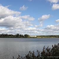 Киржач, озеро Крутое, вид с моста