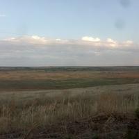 Вид на село из Днепропетровской области.