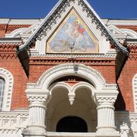 Фрагмент крыльца Георгиевского собора