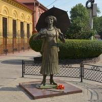 Таганрог. Памятник Фаине Раневской.