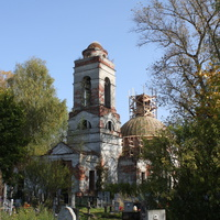 Покровкий погост около д. Арсамаки, церковь Покрова Пресвятой Богородицы