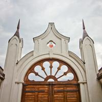 Наднёман. Усадьба Наркевичей-Йодко. Брама.