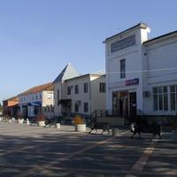 Пешеходная зона в центре города
